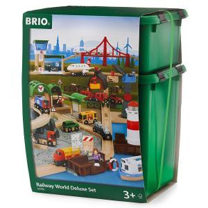 BRIO (ブリオ) WORLD ワールドデラックスセット [ 木製レールおもちゃ ]33766|cony