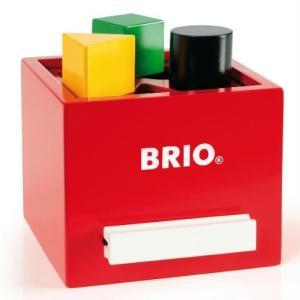 BRIO (ブリオ) WORLD  形合わせボックス赤   30148|cony