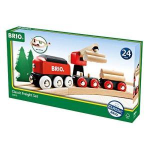 BRIO (ブリオ) WORLD  クラシックレール貨物輸送セット 18ピース 33010|cony