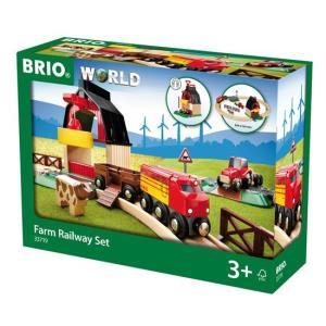 BRIO (ブリオ) WORLD  ファームレールセット20ピース 33719|cony