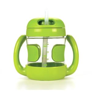 (オクソートット)NEWハンドル付きストローカップ グリーン (FDOX6178303)|cony