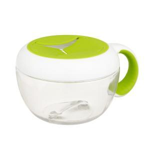 (オクソートット)カバー付きフリッピースナックカップ/グリーン(FDOX6114100)|cony