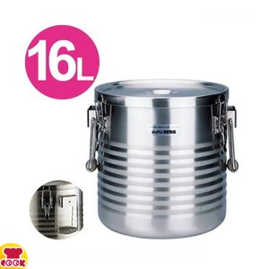 <title>サーモス 高性能保温食缶 100%品質保証! シャトルドラム JIK-W16 16L 送料無料 代引不可</title>