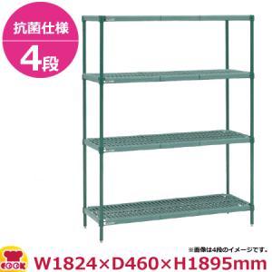 スーパーエレクター プロ PR1872NK3 74PK3 店舗 代引不可 奥行460mm 日本限定 4段 送料無料
