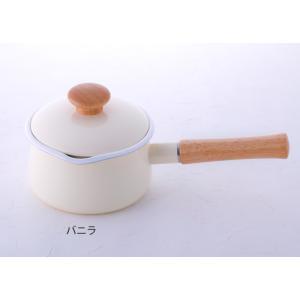富士ホーロー IH対応 ミルクパン 15cm フタ付き レッド・ホワイト 片手鍋 C-15M|cooking-clocca|09