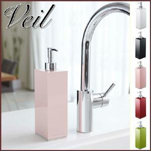 Veil ヴェール ツーウェイキッチンディスペンサーボトル L ピンク キッチン洗剤容器|cooking-clocca