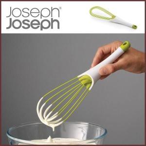 【ジョセフジョセフ】 (Joseph Joseph) 泡立て器 ツイスト ホワイト/グリーン◆ジョゼフジョゼフ/食洗機対応/ホイッパー/泡立て/製菓|cooking-clocca