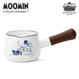 MOOMIN ムーミン ミルクパン 12cm 0.75L 富士ホーロー MT-12M 送料無料|cooking-clocca