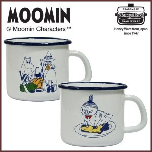 MOOMIN ムーミン ホーロー マグカップ 550ml ムーミン&スナフキン・リトルミイ|cooking-clocca
