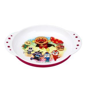アンパンマン 持ち手付き 大皿 ピンク KK-222 レック 子ども用食器 あすつく cooking-clocca