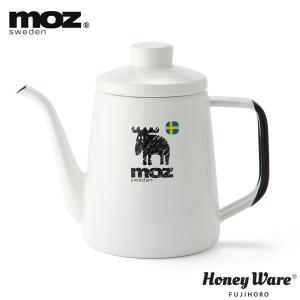 moz モズ 1.0L ドリップポット 富士ホーロー ハニーウェア【ホーロー/琺瑯/送料無料】|cooking-clocca