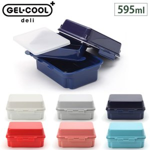 ジェルクール プラスデリ2段 300ml+295ml 保冷剤一体型ランチボックス 三好製作所 ランチグッズ 日本製 cooking-clocca