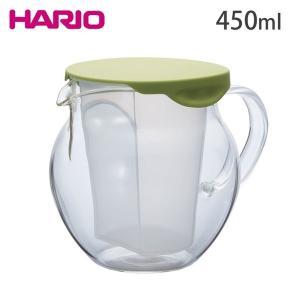 ハリオ 茶茶 フラッティ 450ml CHF-45GG HARIO ティーポット cooking-clocca