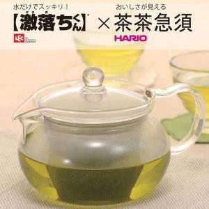 ハリオ 茶茶急須 丸 450ml 激落ちくんスポンジ セット CHJMN-45T-GO HARIO レック cooking-clocca