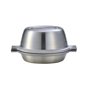 マイスター あわせ釜 20cm ガス火専用 北陸アルミニウム A-2211 両手鍋 無水調理鍋 アルミ 日本製 ホクア 送料無料|cooking-clocca|10