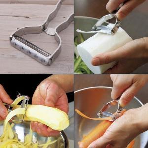 <メール便 送料無料>貝印 セレクト100 T型ピーラー キッチンツール 調理器具|cooking-clocca|02