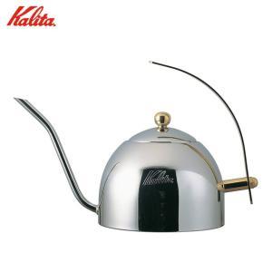 カリタ ステンレス ドリップポット 1L 1000S 茶こし付き コーヒー ドリップ 細口 送料無料|cooking-clocca