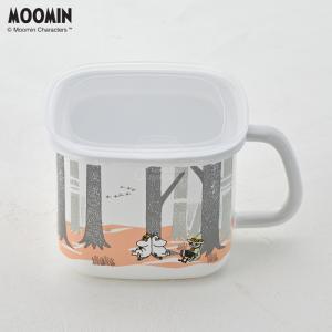 ムーミン フォレスト 味噌ポット MTF-KP 富士ホーロー みそポット ホーロー容器 送料無料|cooking-clocca