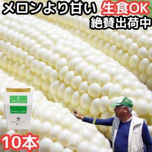 生食OK!白い激甘コーン! 香川ピュアホワイトコーン2L〜L...
