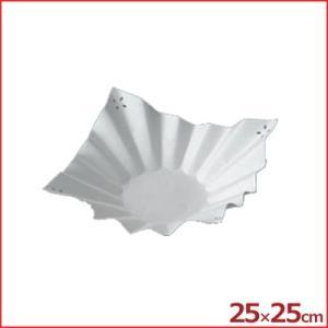 角折 三層紙鍋 万華鏡 SKA-122 25×25cm 入数1枚 紙焼き 敷き紙|cookwares