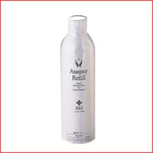 オートアセプジー スプレー缶 AS-400R 消毒・殺菌薬剤
