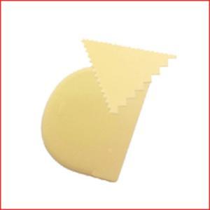 アイデアル イ-111カード 2枚組 ケーキ・洋菓子デコレーション用品 スケッパー お菓子作り 製菓 パン作り|cookwares