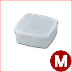 保存容器 ラストロ B-311N 角キーパー Mサイズ PP製容器 耐熱100℃ 食材保管容器 プラスチック容器|cookwares