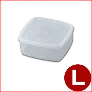 保存容器 ラストロ B-312N 角キーパー Lサイズ PP製容器 耐熱100℃ 食材保管容器 プラスチック容器|cookwares