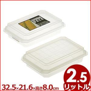 保存容器 冷凍・冷蔵・電子レンジ対応 システムパック 2.5L 32.5×21.6×高さ8cm TV-11  ケース 入れ物 保管 《メーカー取寄 返品不可》|cookwares