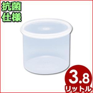 電子レンジ対応保存容器 トンボ シールウェア Φ205×150mm 3.8L RF-2 筒状(※蓋付き)食材ストッカー 保存ケース 保管ケース 抗菌仕様保存容器|cookwares