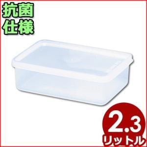 電子レンジ対応保存容器 トンボ シールウェア 240×170×H80mm 2.3L OA-0 角型(※蓋付き)食材ストッカー 保存ケース 保管ケース 抗菌仕様保存容器|cookwares