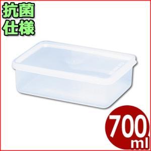 電子レンジ対応保存容器 トンボ シールウェア 170×120×H50mm 700ml OA-3 角型(※蓋付き)食材ストッカー 保存ケース 保管ケース 抗菌仕様保存容器|cookwares