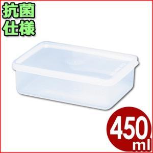 電子レンジ対応保存容器 トンボ シールウェア 145×95×H50mm 450ml OA-4 角型(※蓋付き)食材ストッカー 保存ケース 保管ケース 抗菌仕様保存容器|cookwares