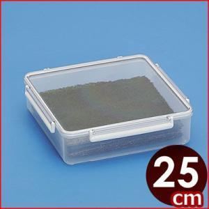 蝶プラ のりケース 25×25×高さ6.8cm 焼き海苔保存容器  入れ物 乾物 cookwares