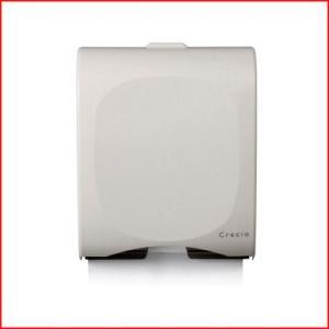 クレシア ハンドタオルディスペンサー スリム400 小判04131 400枚格納 ペーパータオル 入れ物 容器 タオル箱 手洗い|cookwares