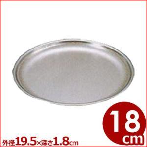 仔犬印 パンチざる そば型 18cm 18-8ステンレス製 水切りボール 洗いやすいざる 本間製作所 cookwares