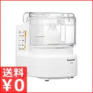 パナソニック フードプロセッサー MK-K61-W レシピ本付き 多機能タイプ 家庭用フードプロセッサー|cookwares