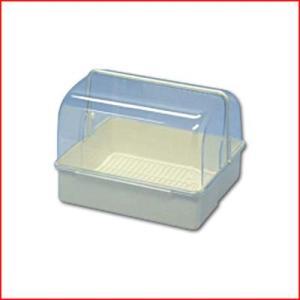 フードケース メロディー 34型 白 プラスチック製 33.6×28.8cm×高さ24.8cm 容器 入れ物 カバー付き(※蓋付き)保存 保管 食器 コップ 調味料|cookwares