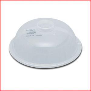 レンジ加熱用プラスチックカバー ラップレス No.1 Φ102mm ふた 《メーカー取寄 返品不可》|cookwares