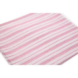 くーる&ほっと 昔ながらのレーヨン袋あかすり 日本製(群馬県で製造)2枚組(ピンク&ブルー)|cool-and-hot|04
