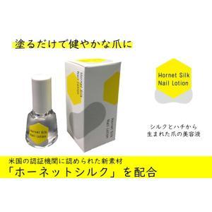 健やかな爪に 日本製 ホーネットシルクネイルローション