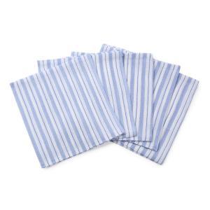 くーる&ほっと 昔ながらのレーヨン袋あかすり 5枚組 日本製(群馬県で製造)青|cool-and-hot|05