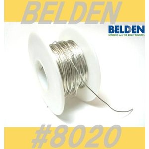 BELDEN 8020 アースワイヤー  切り売り コンデンサー足延長  配線材  ベルデン  wi...