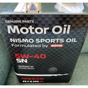日産純正 指定 NISMO  ニスモ スポーツ オイル FORMULATED BY MOTUL KLANN-05404 4リットル 5W-40 5W40|cool-japan