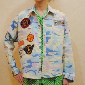 S〜XLサイズ【セレクト商品】パステルトーンの迷彩ジャケット|cool-klothes