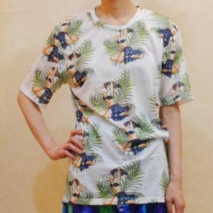 S〜Lサイズ【セレクト商品】椰子の木陰のフラガール◆トップス|cool-klothes