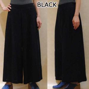 M〜XL【セレクト商品】ブラック or オリエンタルフラワー◆ワイドパンツ◆|cool-klothes|02