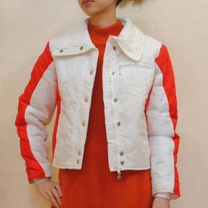 S〜Lサイズ【アメリカ製古着】1960年代ヴィンテージ◆中綿入り◆赤と白のスキージャケット【中古】|cool-klothes