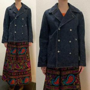 S〜Lサイズ【アメリカ製古着】「Calvin Klein Jeans」インディゴ◆デニムダブルジャケット【中古】|cool-klothes