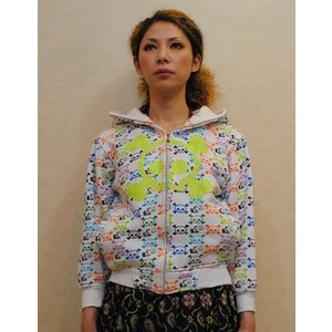 XS〜Mサイズ【アメリカ古着】「CREATING LIMITLESS HEIGHTS」◆$とドクロちゃん◆裏起毛フーディー【中古】|cool-klothes